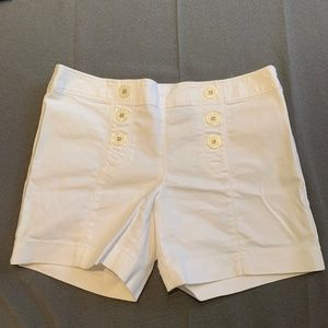 The Limited White Shorts